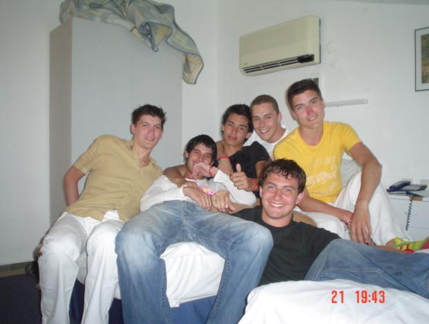 In hotelroom in Marmaris, Turkije! Tijdens de zomervakantie van 2004! Die tijd daar was gaaf!