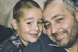 Ik en mijn zoon