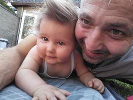 Mijn jongste dochter en ik
