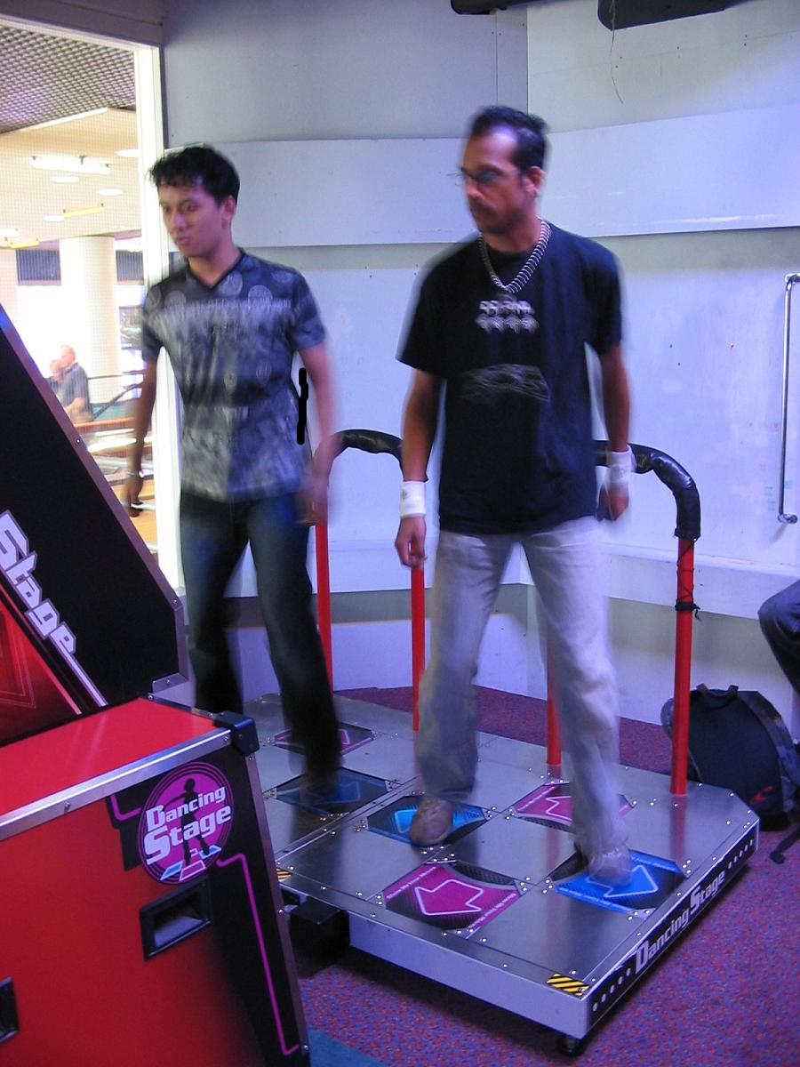DDR action
