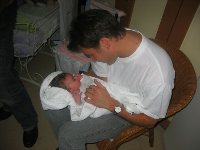 ik en mijn kleine nichtje