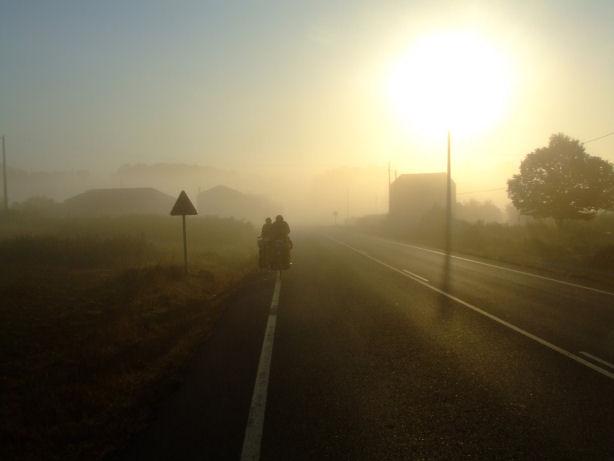 op de fiets naar santiago de compostela