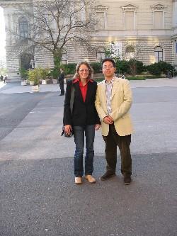 Met ChrisJX in Wenen