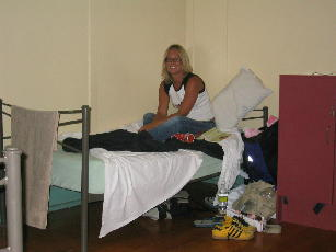 In me dorm in Brisbane