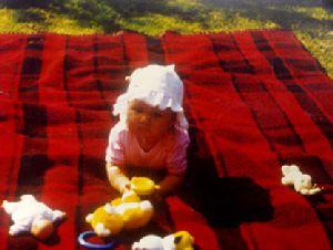 Natasja als baby :)