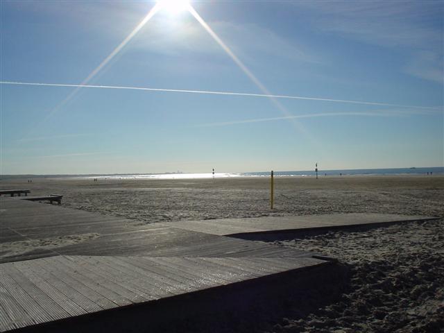 Strand bij IJmuiden