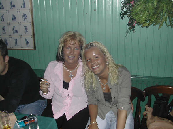 Met mijn lieve zus