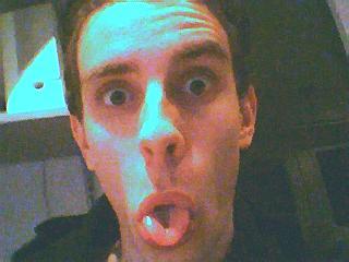 ff de webcam uitteste..