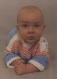 Me as a (cute) little baby!