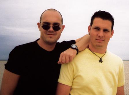 Mijn broeder (Molz) en ik ...