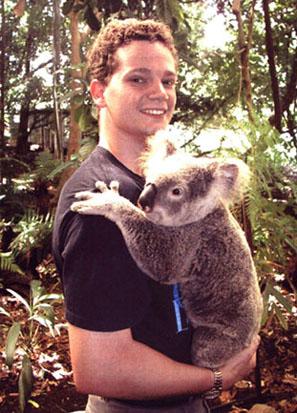 Met Charlotte in Australië