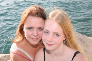 Mn zusje en ik