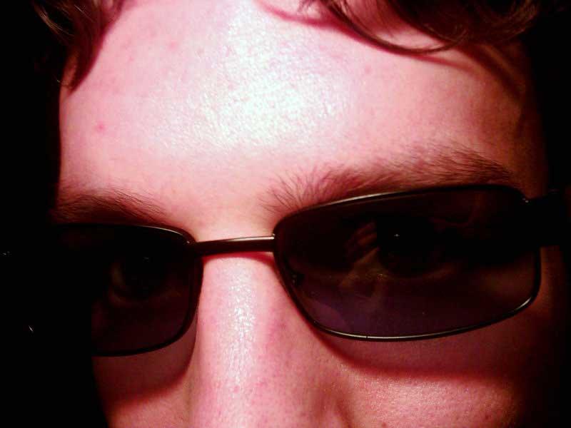 Nieuwe zonnebril!