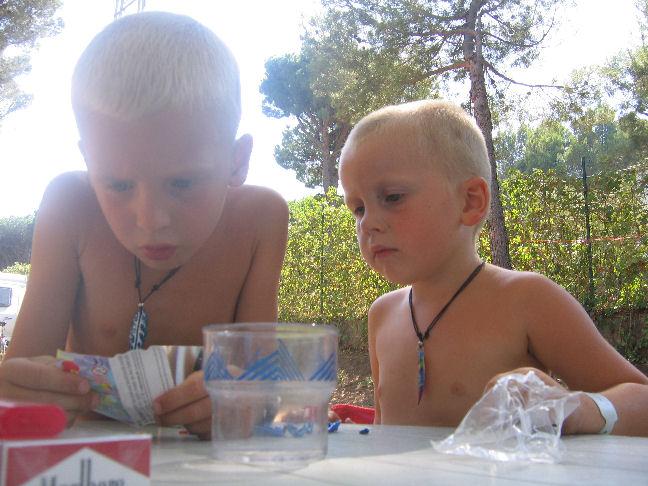 Connor en Ewen