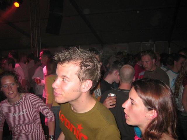 Jeroen en ik - april 2004