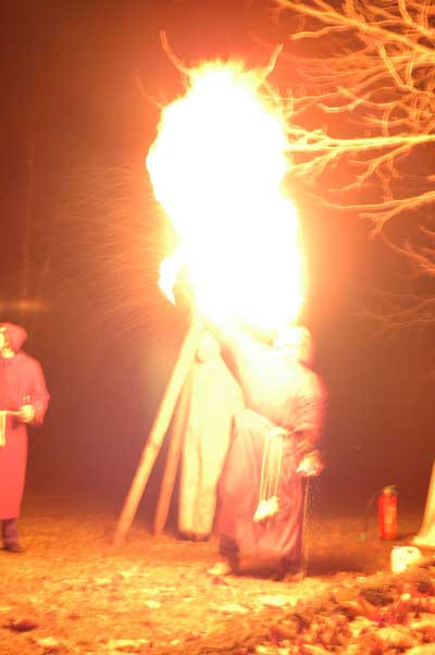 Me Firebreathing