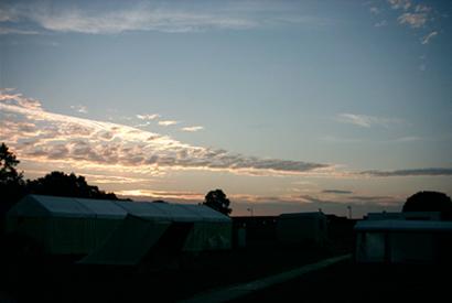 zonsopgang op Megabit
