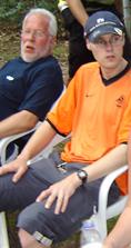 Ik in nijmegen bij de Nijmeegse 4daagse 2004