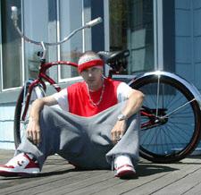 Ik en mijn wheelz.