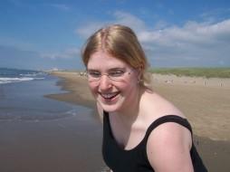 loesje en het strand