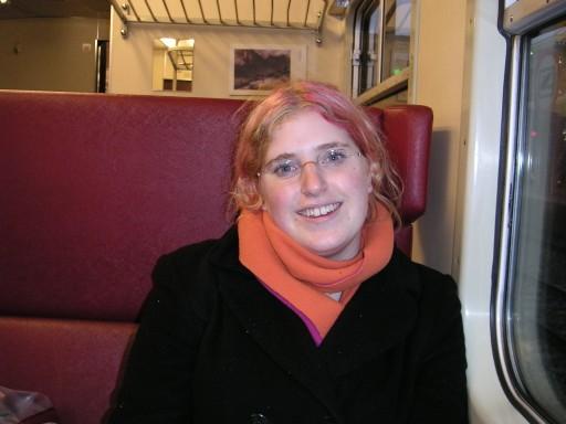loesje in de trein