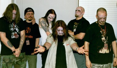 Necrophagia Photoshoot 2003