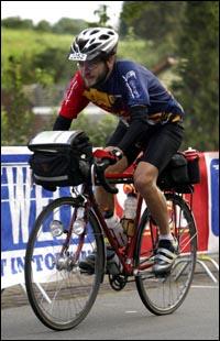 Tijdens de Amstel Gold Race
