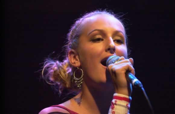 Tijdens een optreden