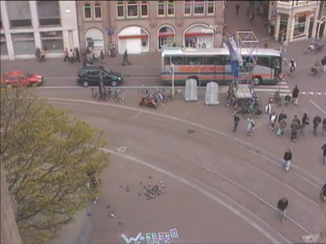 Koningsplein Amsterdam Koninginnedag