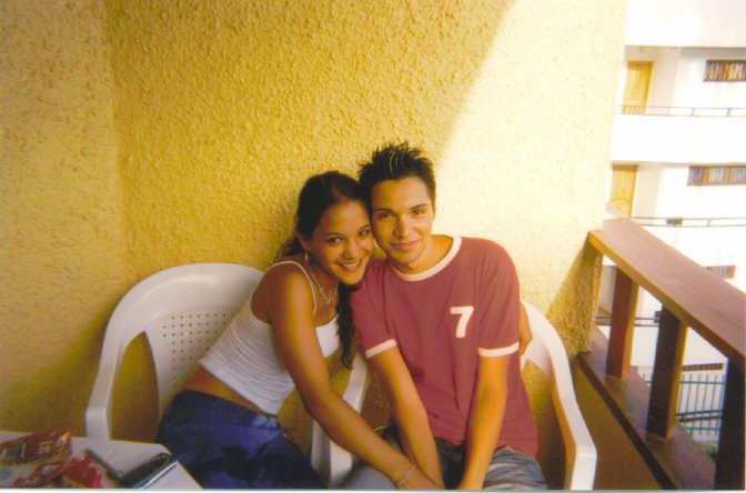 een goede vriend en ik op vakantie in Gran Canaria