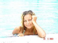 in het zwembad (turkije)