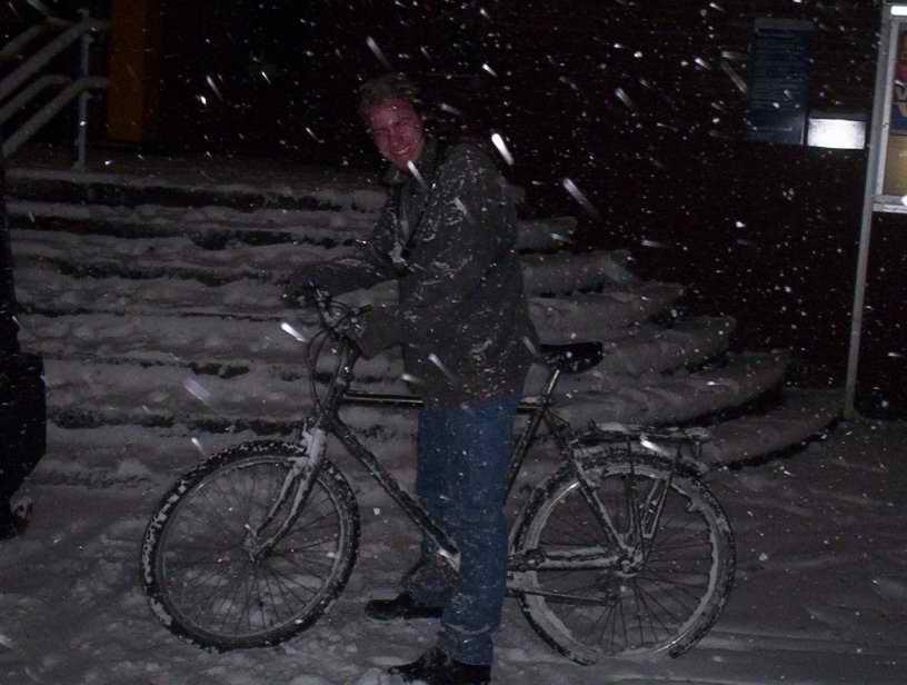 afgelopen winter in Nederland om 6.30