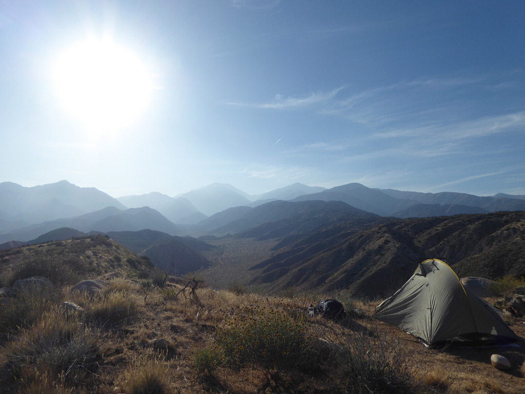 Kamperen op de Pacific Crest Trail, Southern California