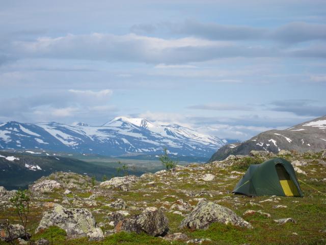 Sarek, Kungsleden Trek, Zweden
