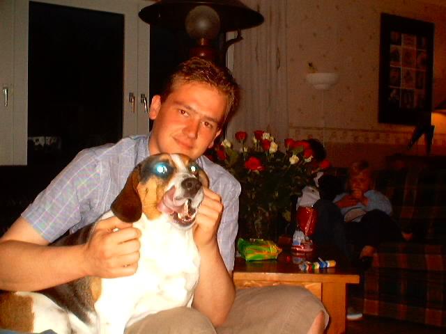 ik met hondje