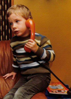 Clip aan het bellen