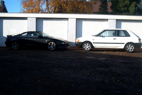 MR2 en Mazda 1