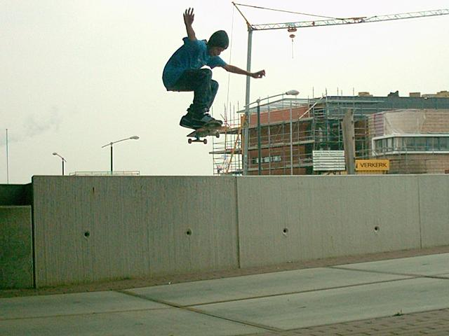 ollie over een gap in velp