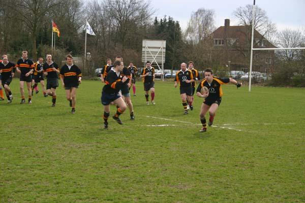 Rugby tegen Ely