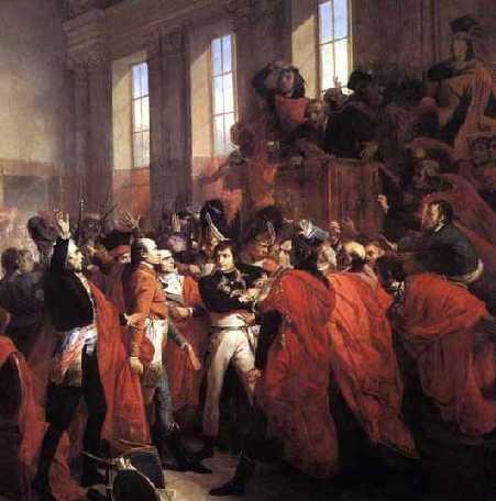 18 Brumaire 1799: de coup d