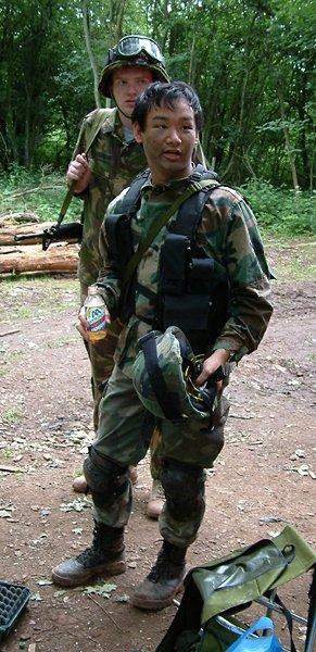 Ikke in mn soldaten outfit =)