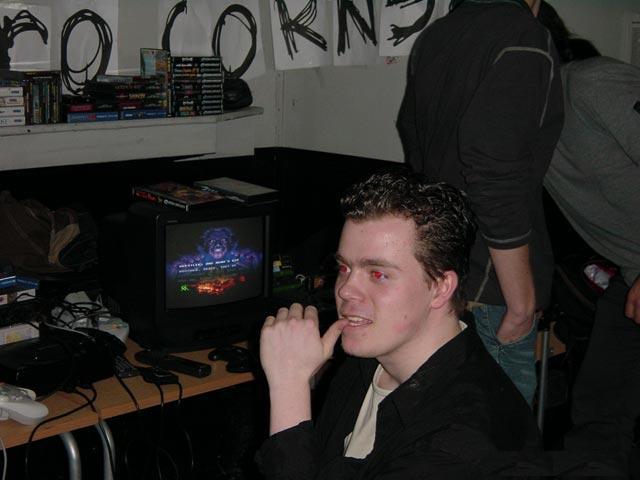 Ik, op het Sega Event 2K3