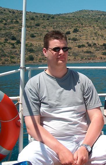 [2004] Relaxed op de boot in Kreta